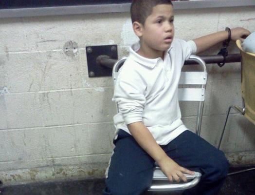 Wilson Reyes at NY police station